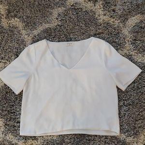 Flowey white blouse